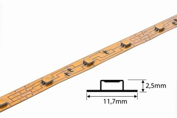 Flex Tape | 12V | 60 LED/m 3528 | 5 meter | IP20 | Wit Licht
