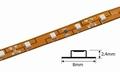 Flex Tape | 12V | 60 LED/m 3528 | 5 meter | IP20 | Geel